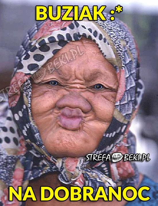 Buziak na dobranoc
