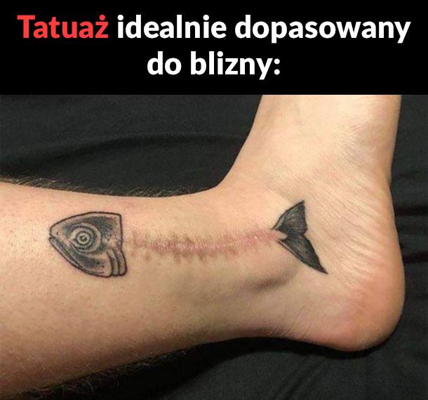 Dopasowany tatuaż
