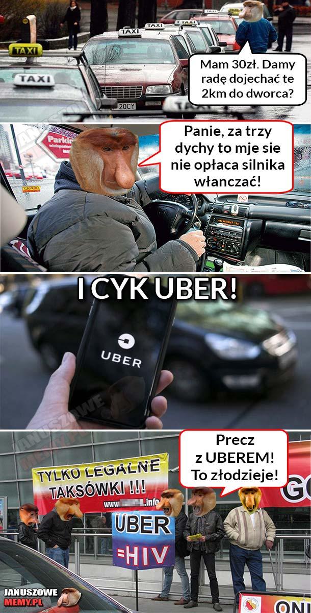Typowy taksówkarz