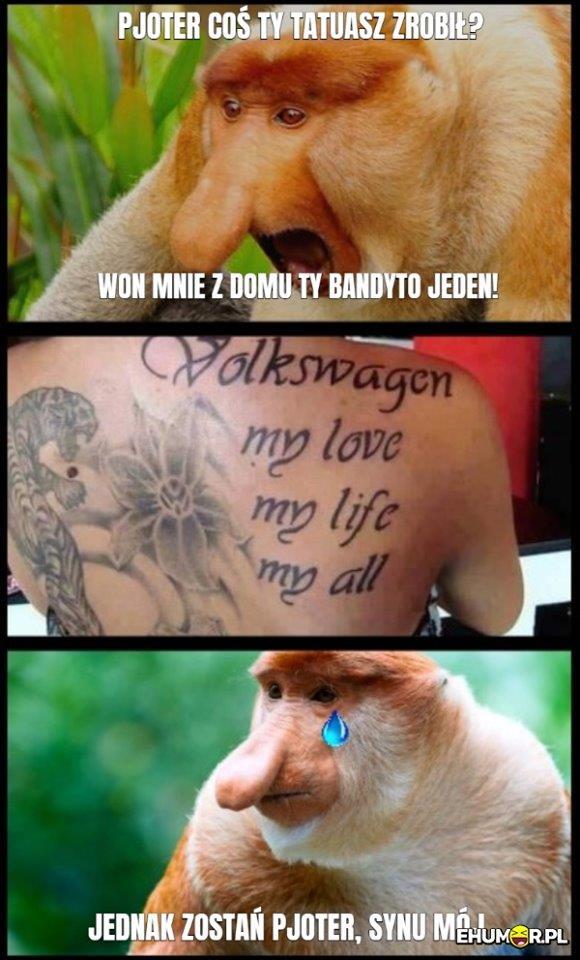 Tatuaż Piotera
