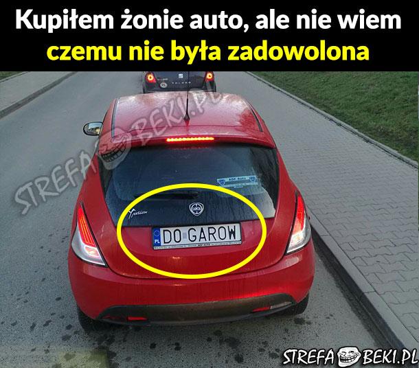 Auto dla żony xD