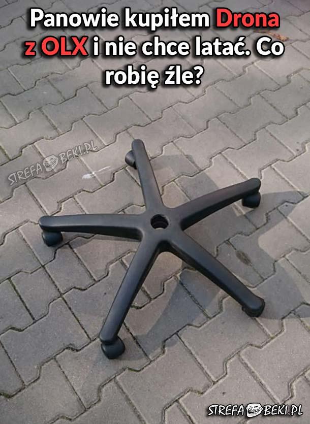 Dron z OLX