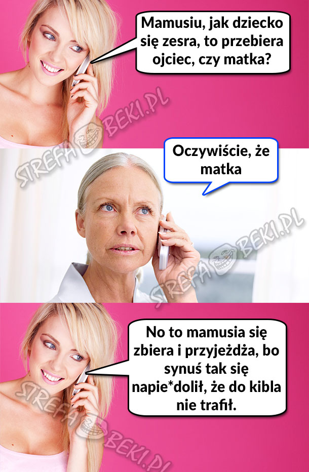 Pytanie do mamusi