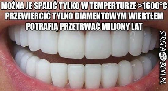 Zęby są jakieś dziwne...