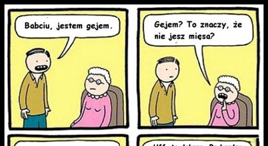 Typowa babcia :D