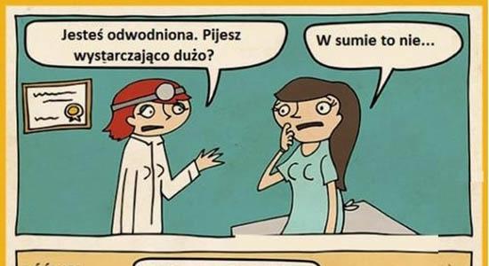 Pacjentka trochę źle zrozumiała lekarkę :D