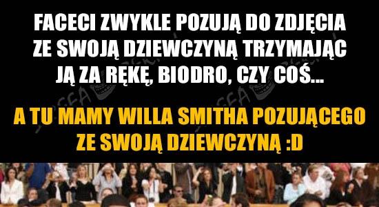 Genialny Will Smith pozuje ze swoją dziewczyną