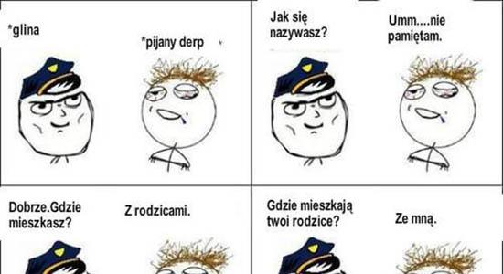 Sposób jak wkurzyć policjanta