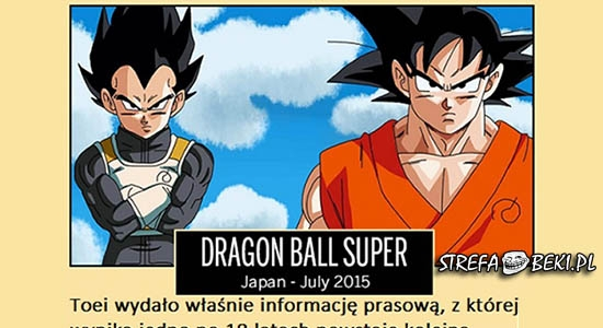 Nowa seria Dragon Ball'a w tym roku!!