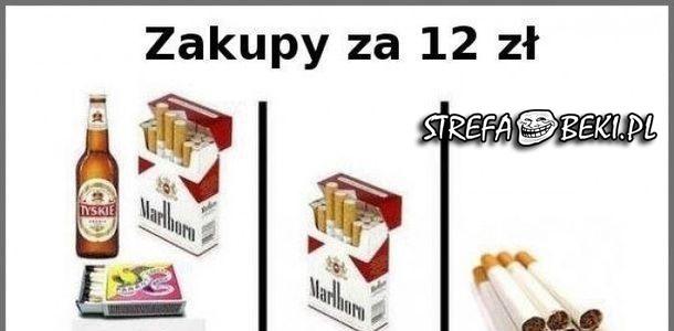Zakupy za 12 złotych