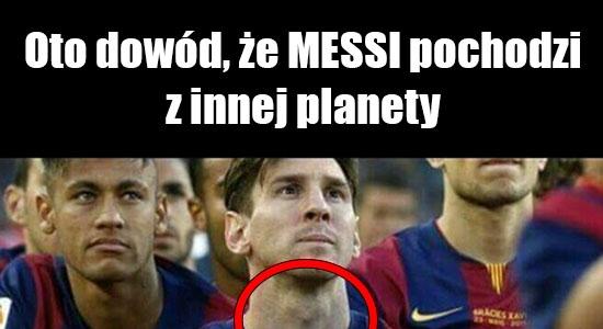 Oto dowód, że Messi jest z innej planety