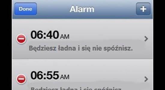 Najlepszy budzik dla kobiet