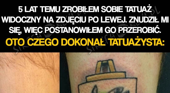 Najlepszy cover tatuażu