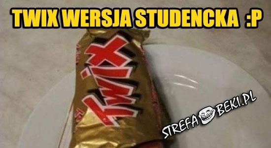 Twix wersja studencka