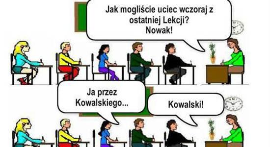 Ucieczka Kowalskiego i Nowaka z lekcji