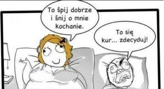 Śpij dobrze kochanie