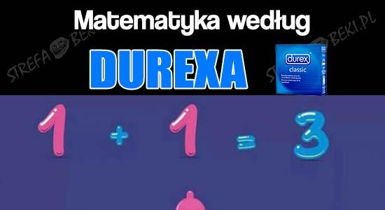 Matematyka według Durexa