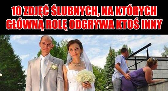 10 zdjęć ślubnych, na których główną rolę odgrywa ktoś inny