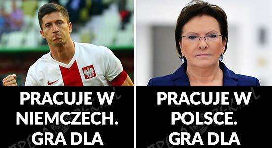 Lewandowski vs Kopacz