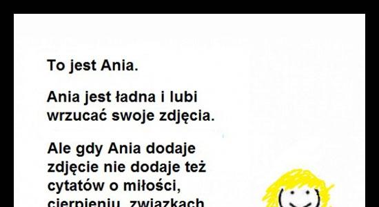 Bądź jak Ania