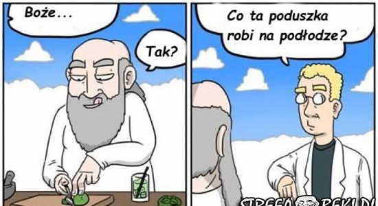 "Bóg i porady z ""Pani domu"" :D"
