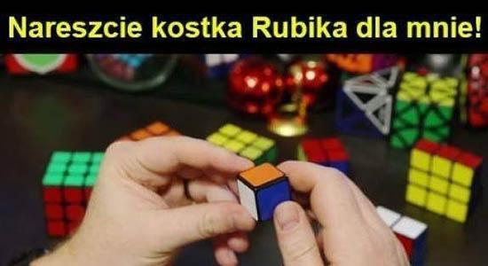 Kostka Rubika dla mnie!