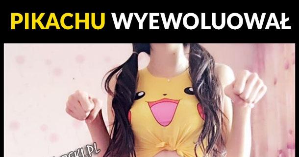 Pikachu wyewoluował :)