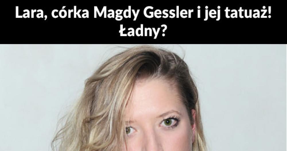Tatuaż córki Magdy Gessler