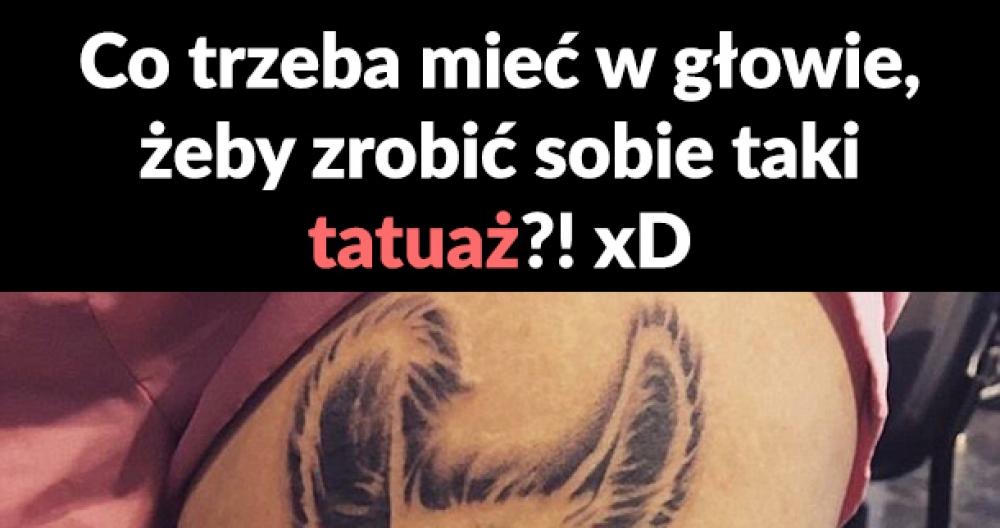 Dziwny tatuaż