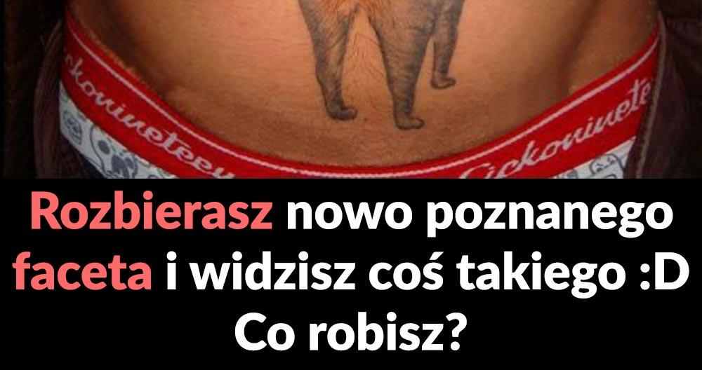 Słodki tatuaż kotka :D