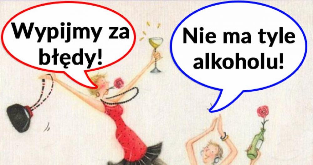 Wypijmy za błędy!