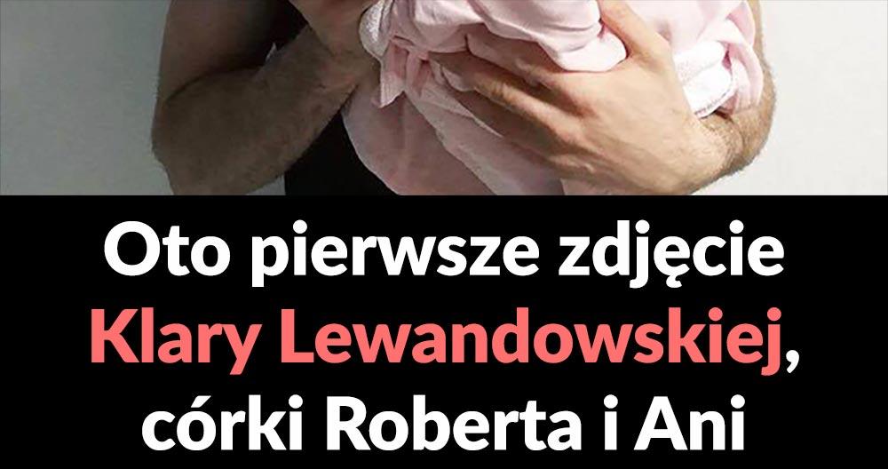 Pierwsze zdjęcie córki Lewandowskich