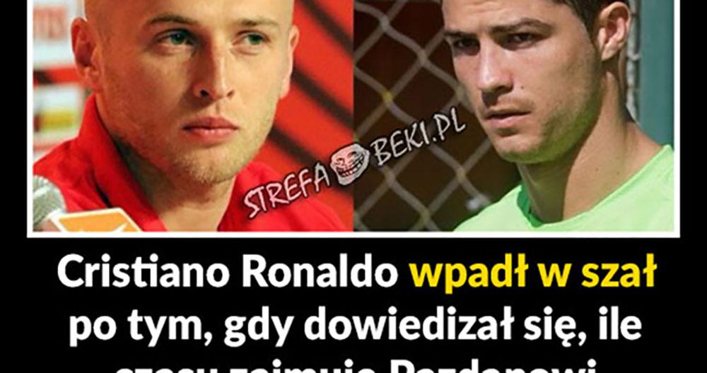 Biedny Cristiano! :D