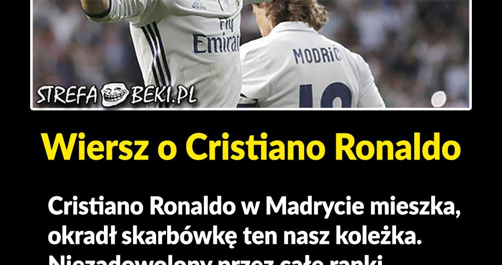 Wiersz o Cristiano Ronaldo