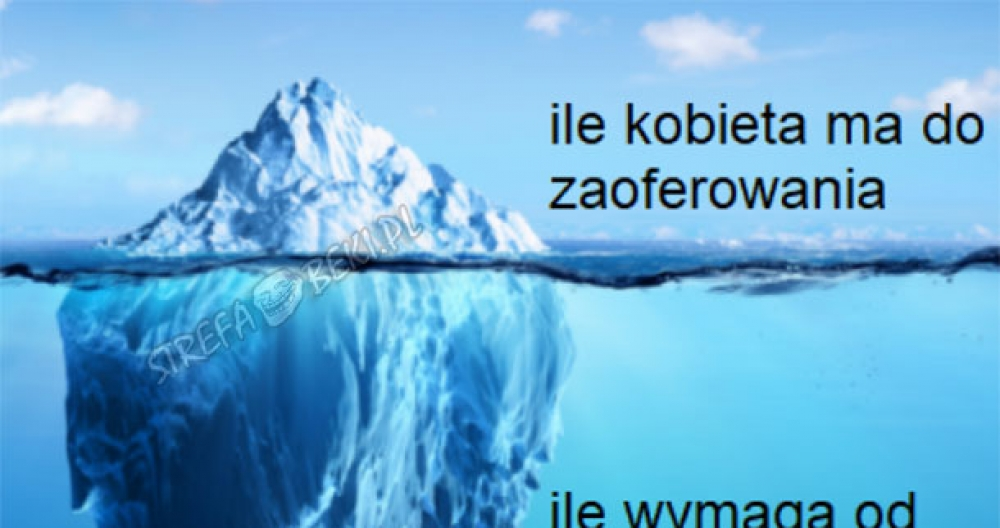 Góra lodowa - taka prawda