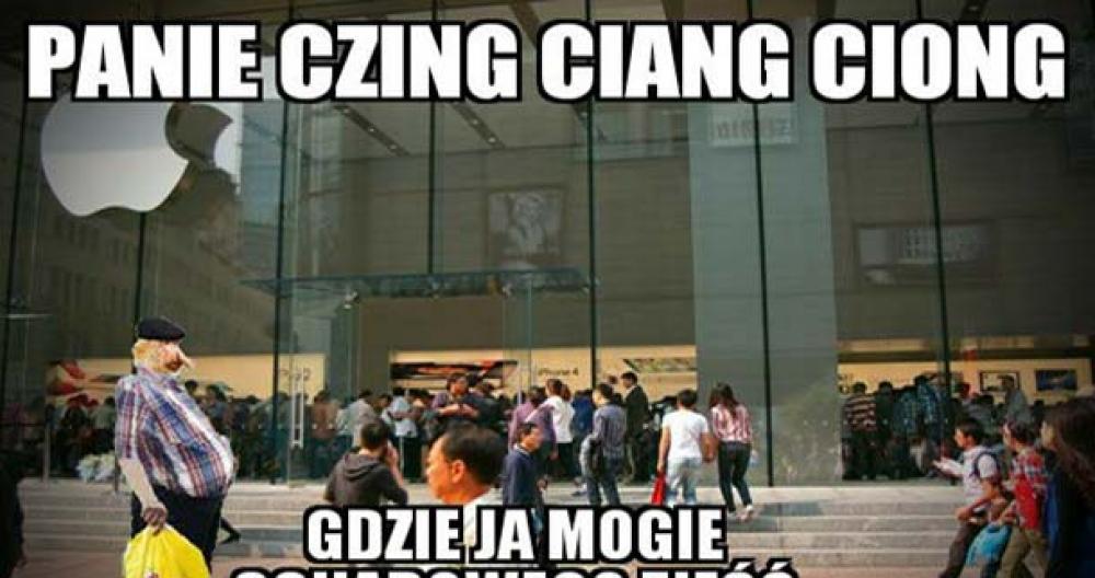 Janusz w Chinach :D
