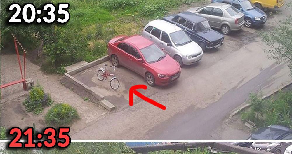 Biedny rowerek :/