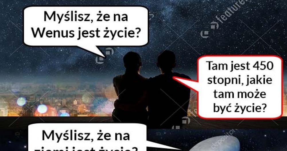 Życie na Wenus vs Życie na Ziemii :D