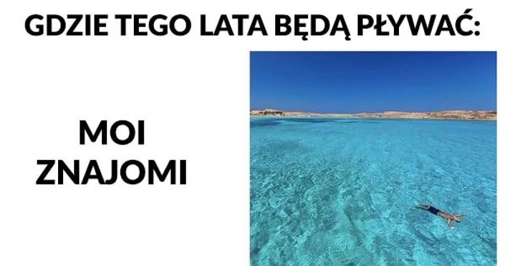 Gdzie będę pływać tego lata