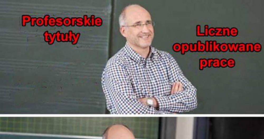 Typowy profesor :D