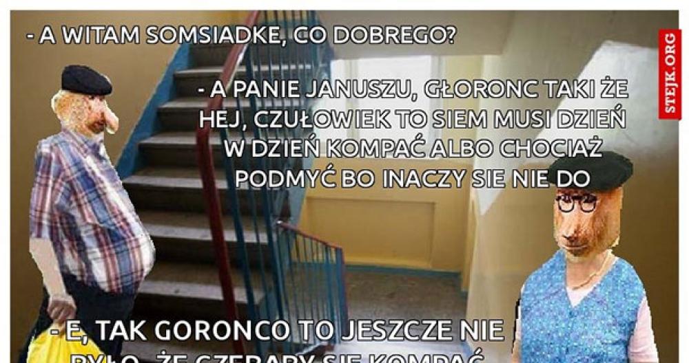 Upał u Janusza