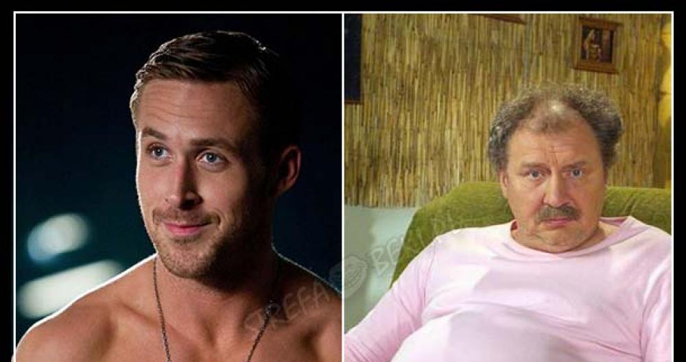 Facet przed i po ślubie