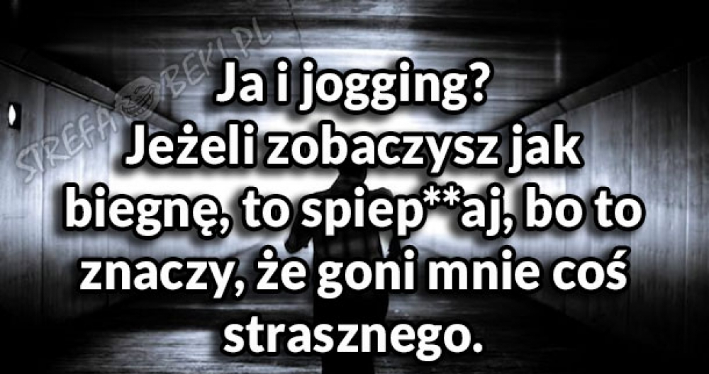 Ja i jogging?