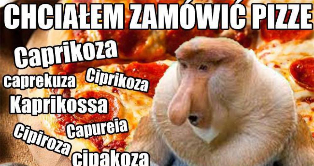 Kiedy Janusz zamawia Pizze