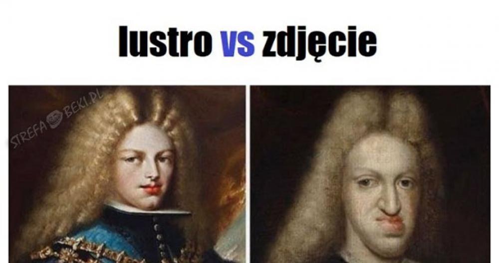 Lustro vs zdjęcie