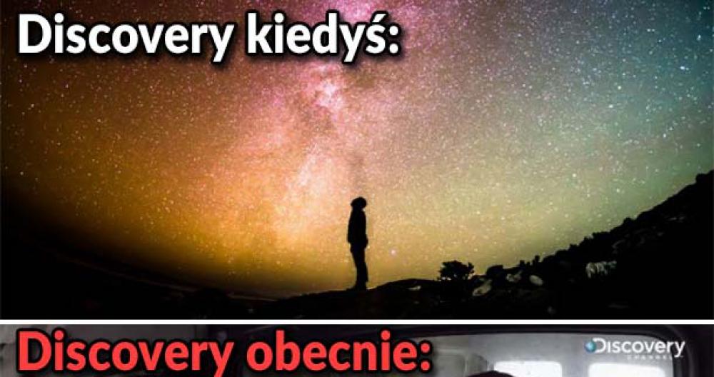 Discovery kiedyś i dziś