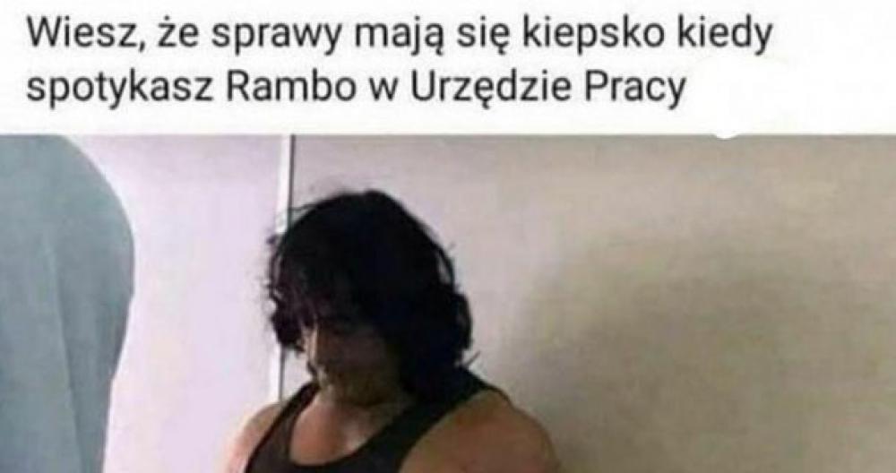 Rambo w Urzędzie Pracy