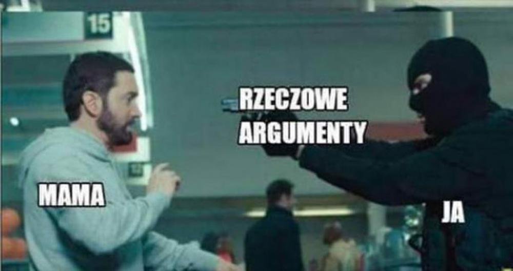 Kiedy kłócisz się z mamą