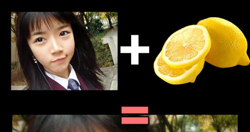Azjatka + cytryna