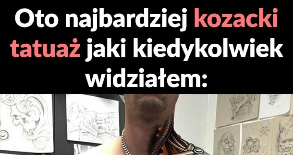 Kozacki tatuaż
